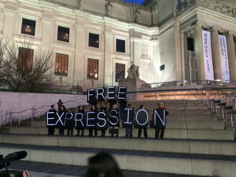 Акция Американского  ПЕН Центра в поддержку репрессированных писателей